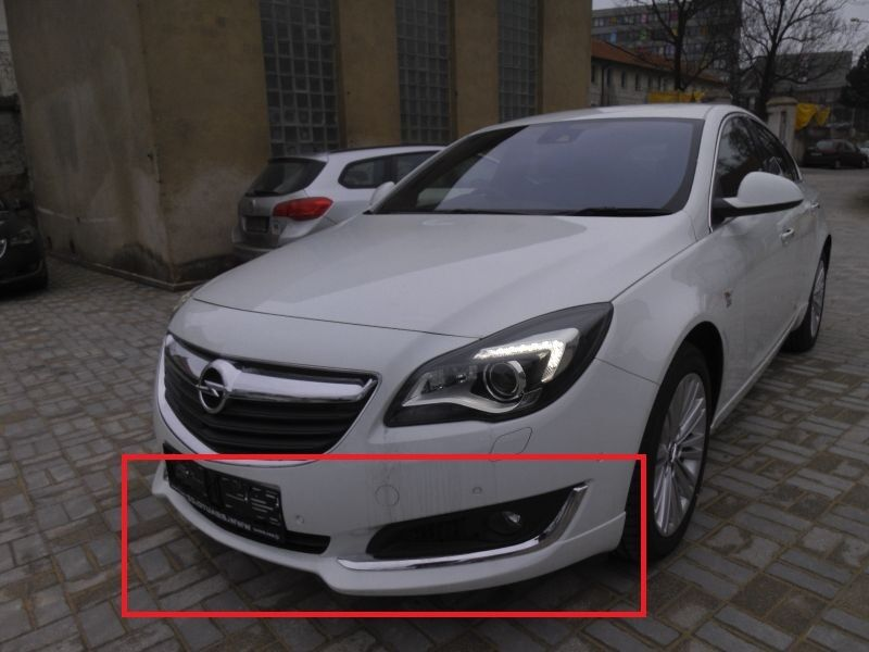 opel vauxhall insignia after lift front bumper valance. Black Bedroom Furniture Sets. Home Design Ideas