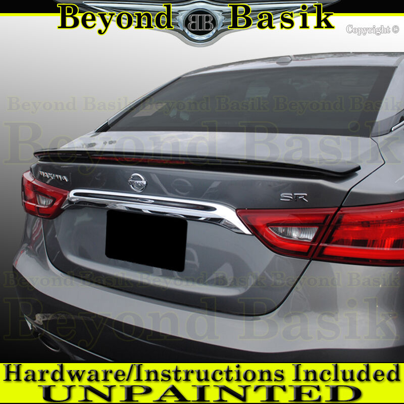 Fit 2016-2018 Nissan MAXIMA Sport Factory Style Spoiler ...