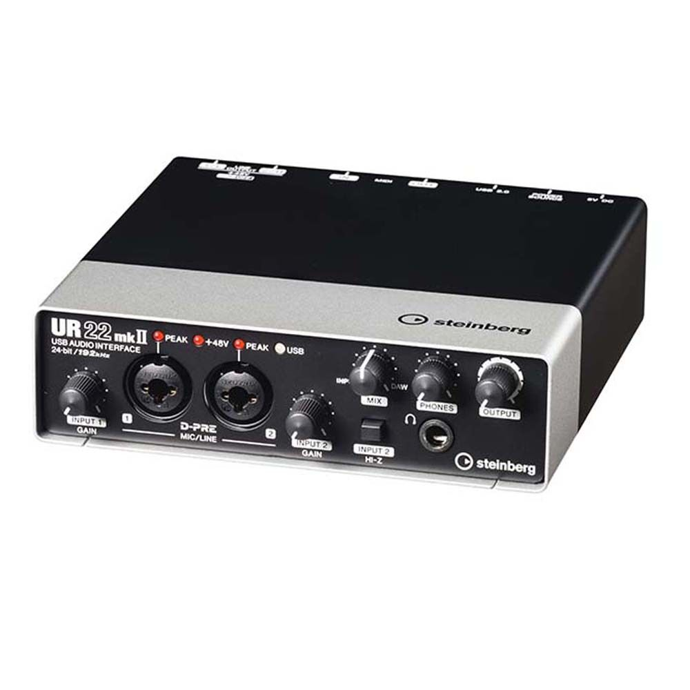 Steinberg Ur22mkii Usb 2 Midi Cubase Mic Preamps Recording Interface The Audio Preamplifier With Dual Ur22 Mk2 889025101073 Ebay