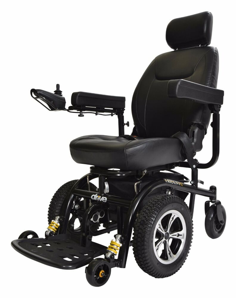 Drive Medical Trident Power Wheelchair With 20 Wide Seat