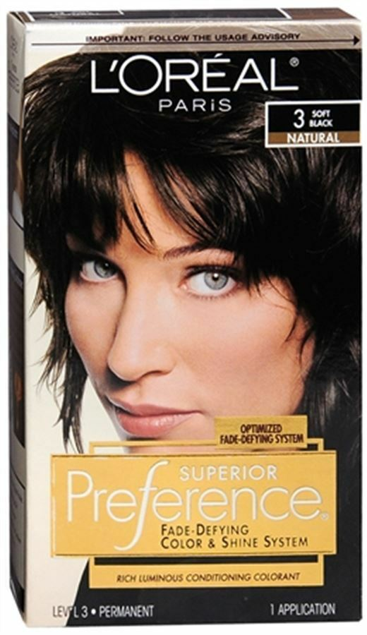 L Oreal Superior Preference 3 Soft Black Natural 1