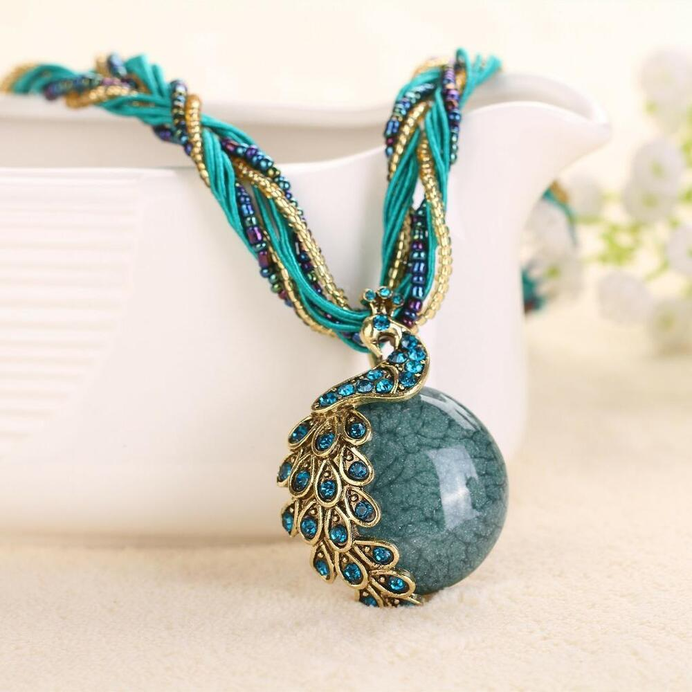 Beauty Bohemian Style Necklace Ethnic Exaggerated Vintage ...