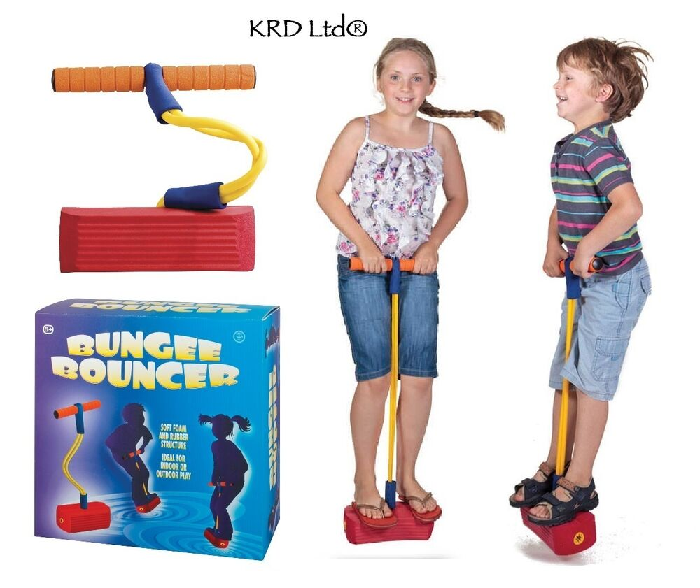 Toys For Exercise : Kids bungee bouncer space jumping exercise balance hopper