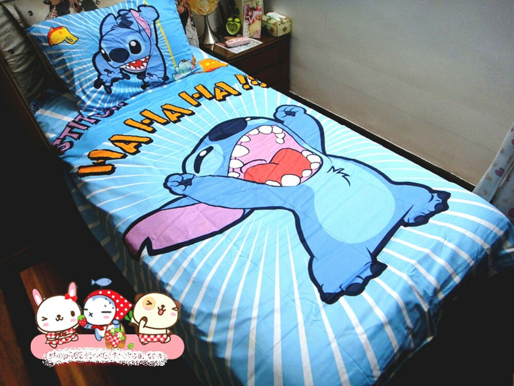 Stitch Double Bed Sheets