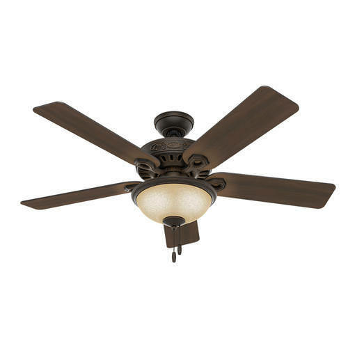 """52 Onyx Bengal 4 Light Ceiling Fan With Light Kit: 52"""" Midnight Copper LED Indoor Ceiling Fan With Light Kit"""