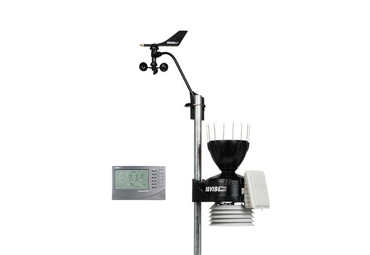 davis vantage pro2 pro 2 wired personal home weather station 100 39 console cable ebay. Black Bedroom Furniture Sets. Home Design Ideas
