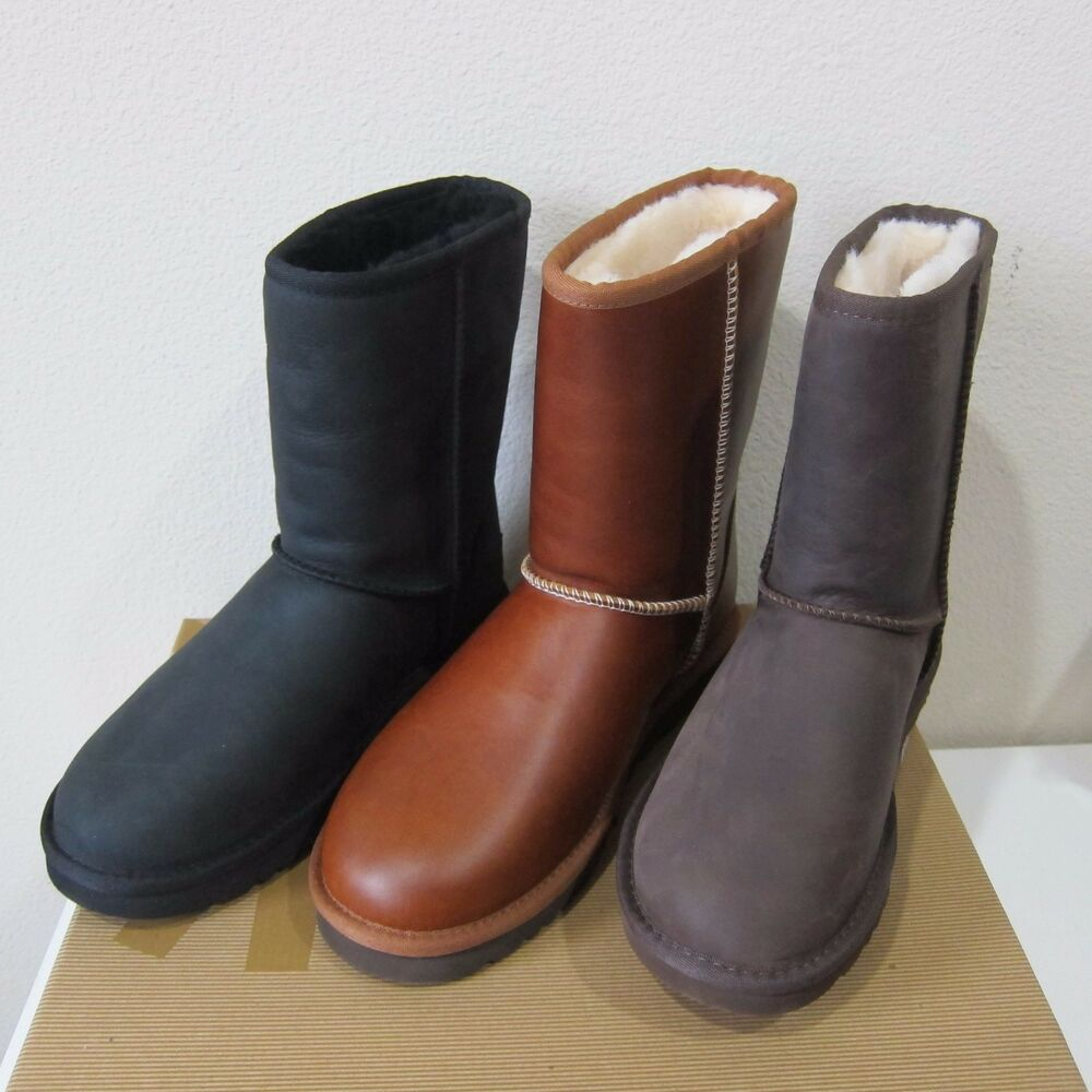ugg australia s classic leather boots water