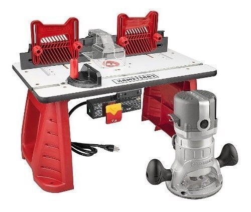Craftsman Router Table Saw Combo Power Tool Tables Bench Top Wood Working Shop Ebay