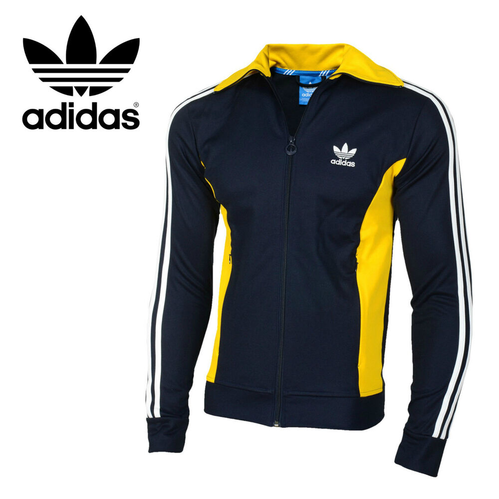 Adidas Originals Mens Europa Retro Vintage Track Top ...
