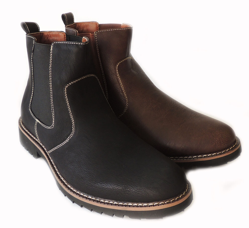 new ferro aldo mens ankle boots casual stretch fit