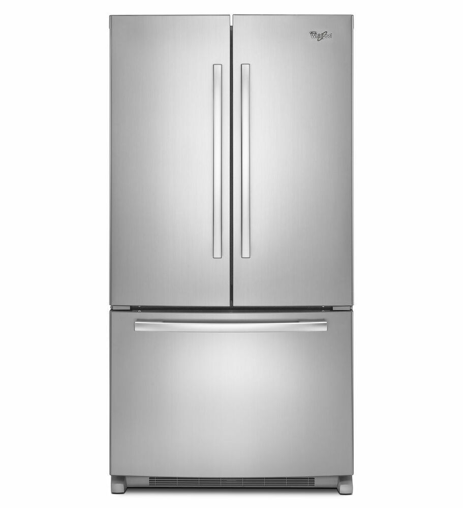 French Door Refrigerators: WHIRLPOOL DOOR FRENCH DOOR 5GFC20PRYA REFRIGERATOR BOTTOM