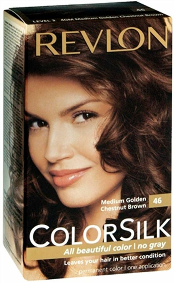 Revlon Colorsilk Hair Color 46 Medium Golden Chestnut Brown 1 Each 309978695462 Ebay