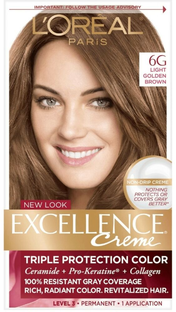 L Oreal Excellence Permanent Hair Color Creme Light Golden