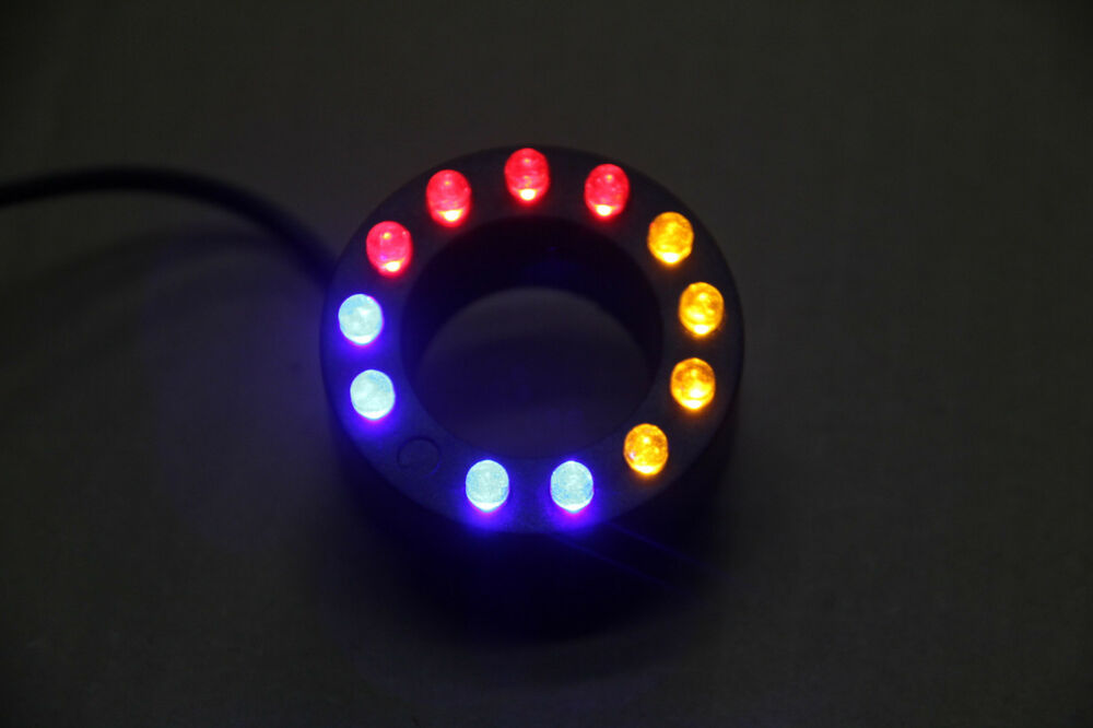 12 Led Color Ring Light Underwater Fountain Pond Water