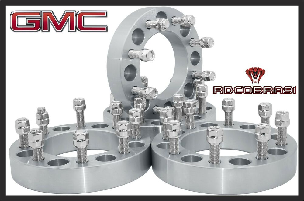 4 To 5 Lug Adapters >> 4 Pc 2000-2010 8x6.5 To 2011-2015 8x180 Conversion Wheel Spacers Adapters 8 Lug | eBay