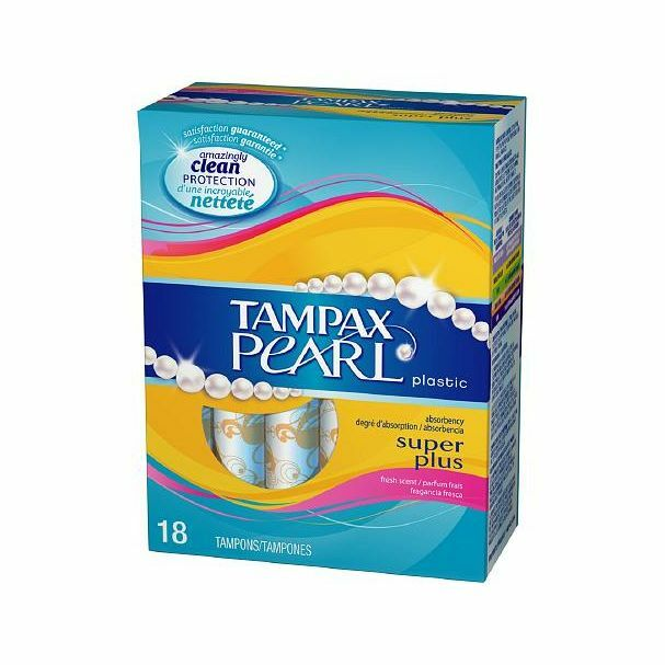 how to put tampax pearl in
