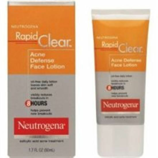 Neutrogena Rapid Clear Acne Defense Face Lotion 1.70 oz 70501024850 | eBay