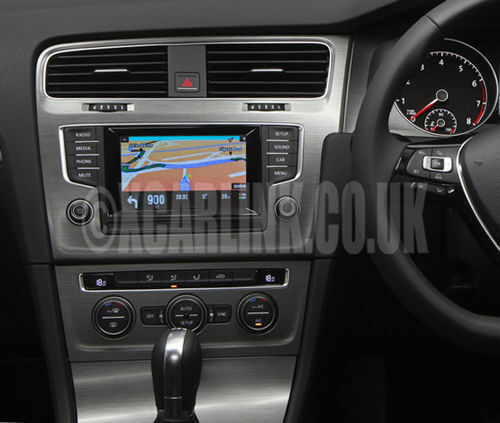 vw golf mk 7 mk vii mib satnav gps satellite navigation touch screen interface ebay. Black Bedroom Furniture Sets. Home Design Ideas