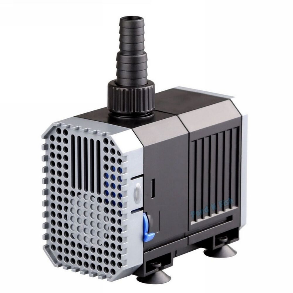 160 1600 gph adjustable submersible water pump aquarium