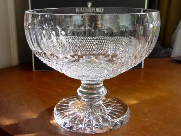 Waterford crystal colleen footed centerpiece bowl new box ebay - Footed bowl centerpiece ...