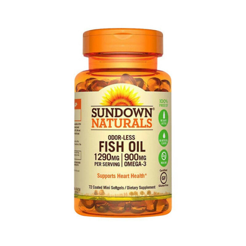 Sundown Naturals Fish Oil  Mg Omega   Mg