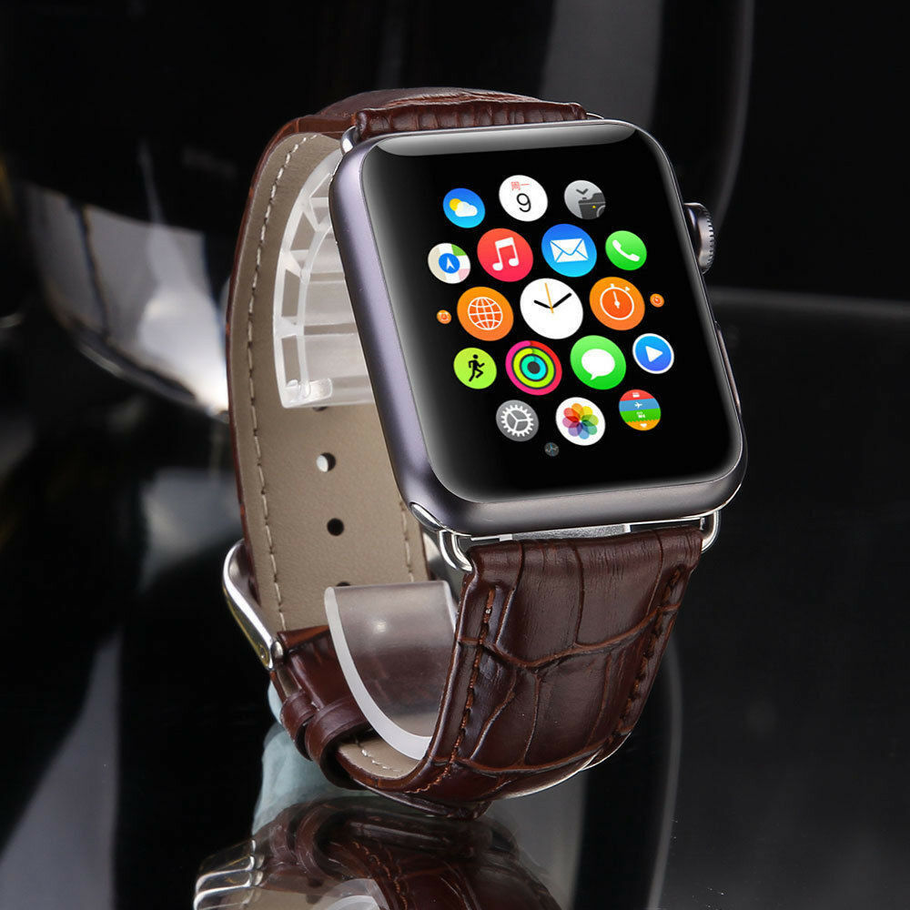 Leather Buckle Wrist Watch Band Strap Belt for iWatch