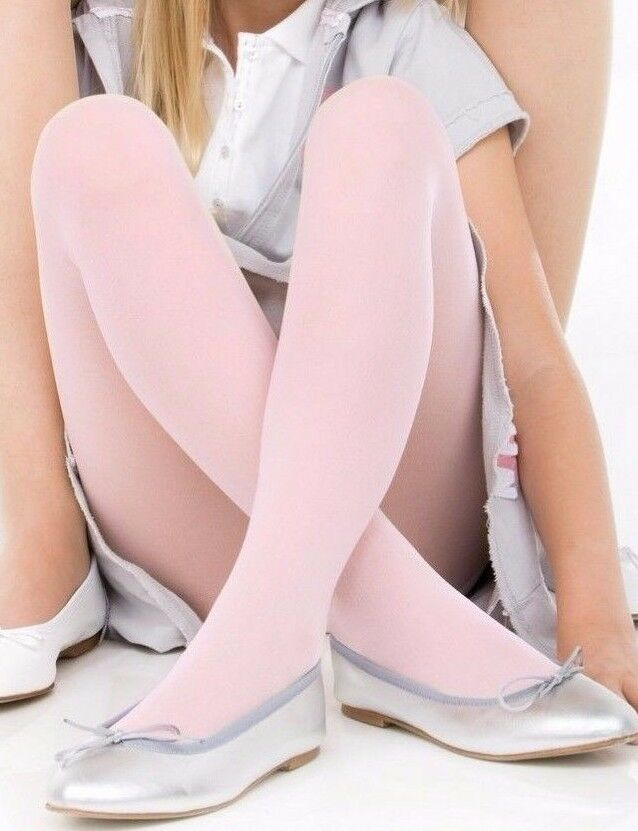 Young girls in colors pantyhose