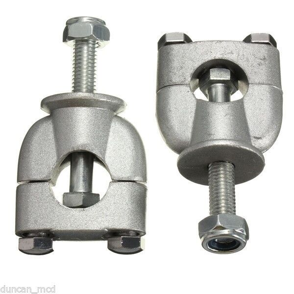 1 Pair 22mm 7 8 Quot Handlebar Riser Mount Clamps For