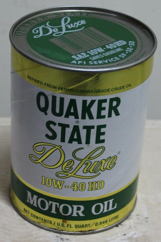 quaker state deluxe 10w 40 hd motor oil 32oz cardboard can