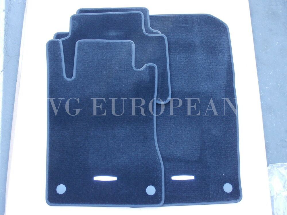 mercedes benz w211 e class genuine carpeted floor mat set mats new. Cars Review. Best American Auto & Cars Review