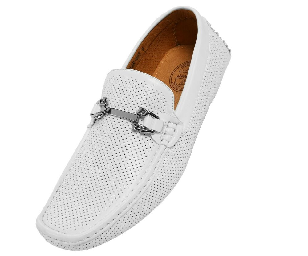 Mens Perforated Driving Shoes