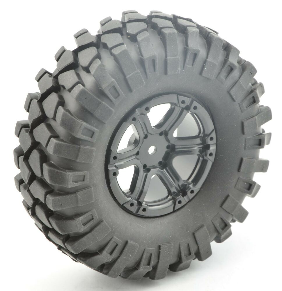 Axal And Wheel : Rc crawler quot wheels tires mm for axial scx