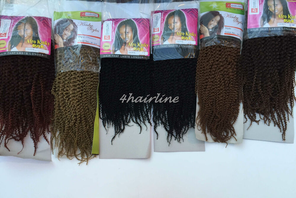 Darling Afro Kinky Hair Extensions 1 2 27 2 30 1 350