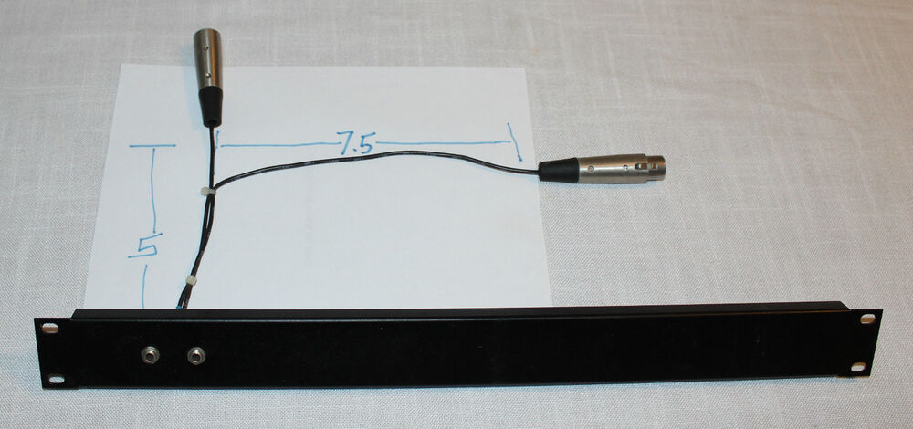 Tt to xlr patch panel 2 of 2 ebay for Pro craft soldering machine
