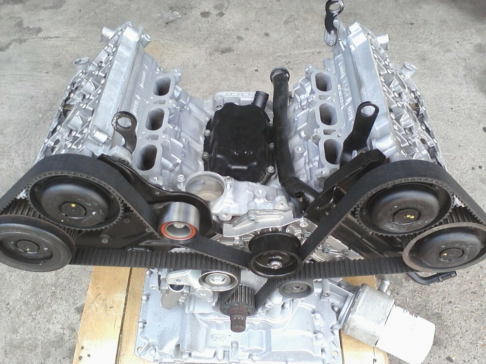 02 06 Audi A4 A6 3 0 Liter V6 Avk Engine Reman