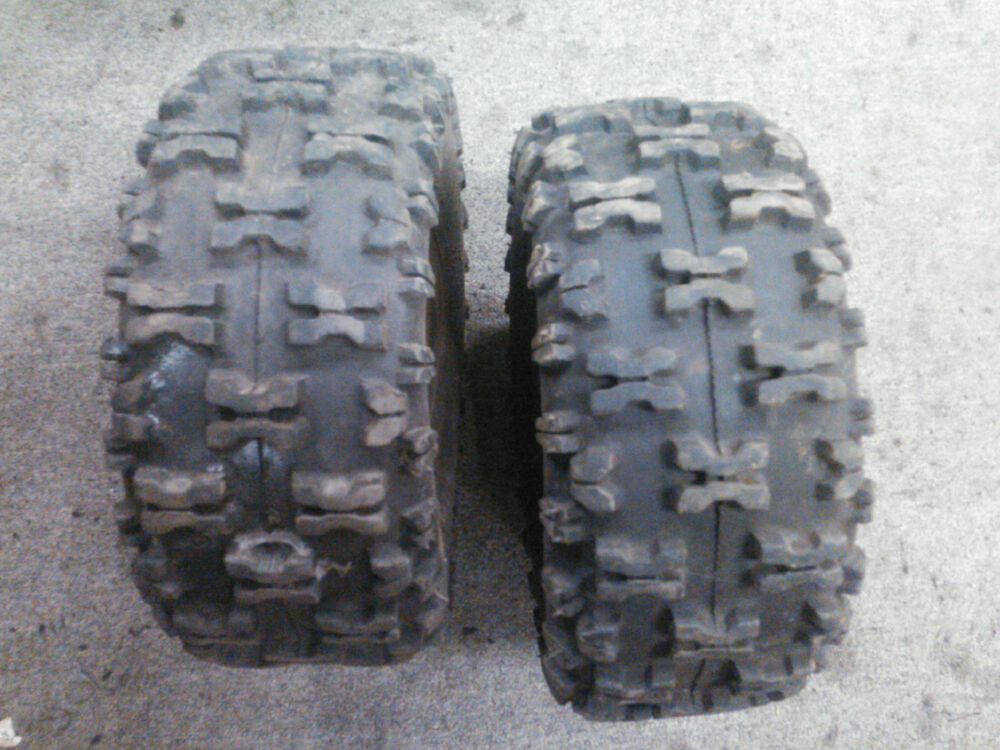 Carlisle 13x500-6 Snow Hog Tires (2)