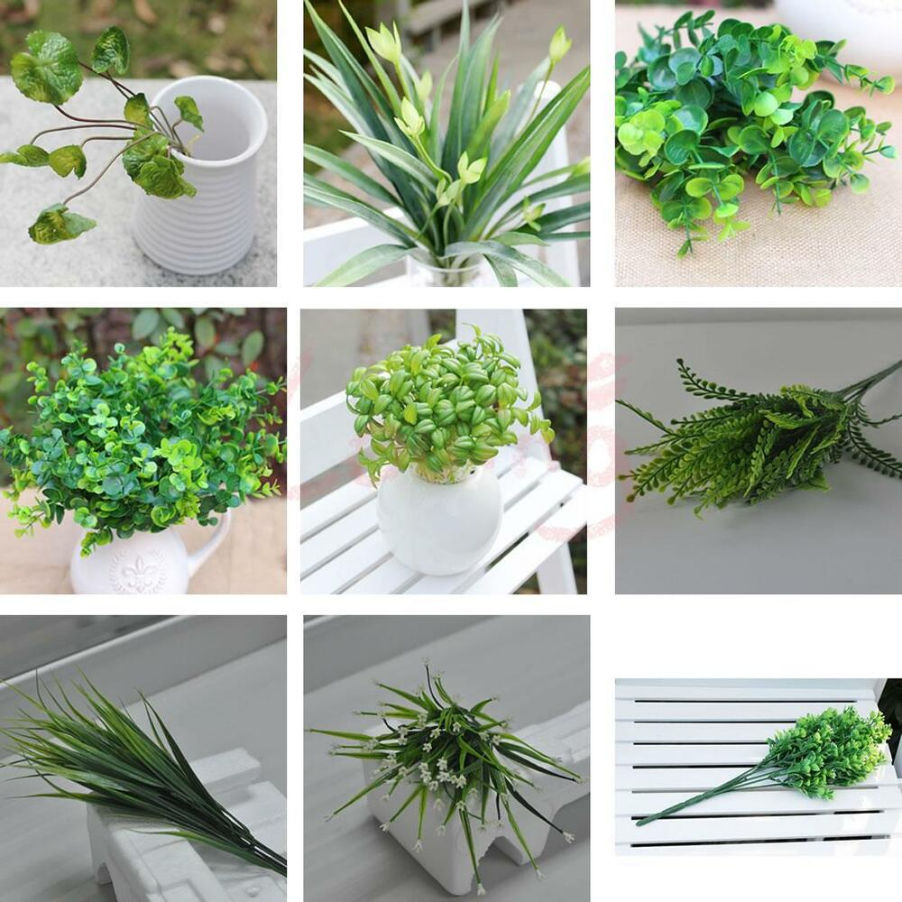 Artificial fake flowers home decoration wedding party for Artificial grass decoration