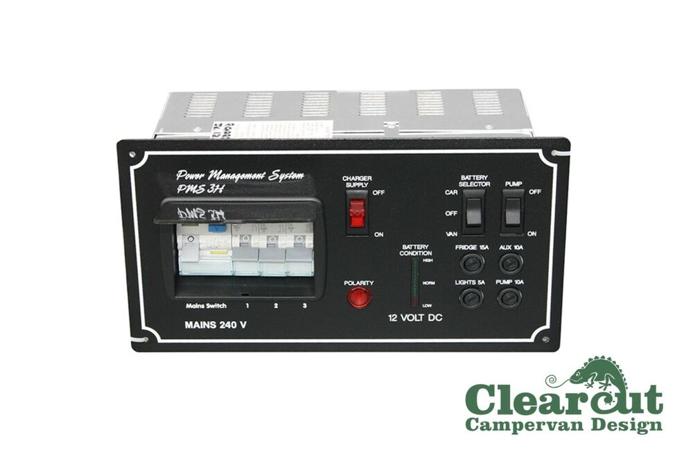 Pms3 Campervan  Motorhome Power Management 240v Electric