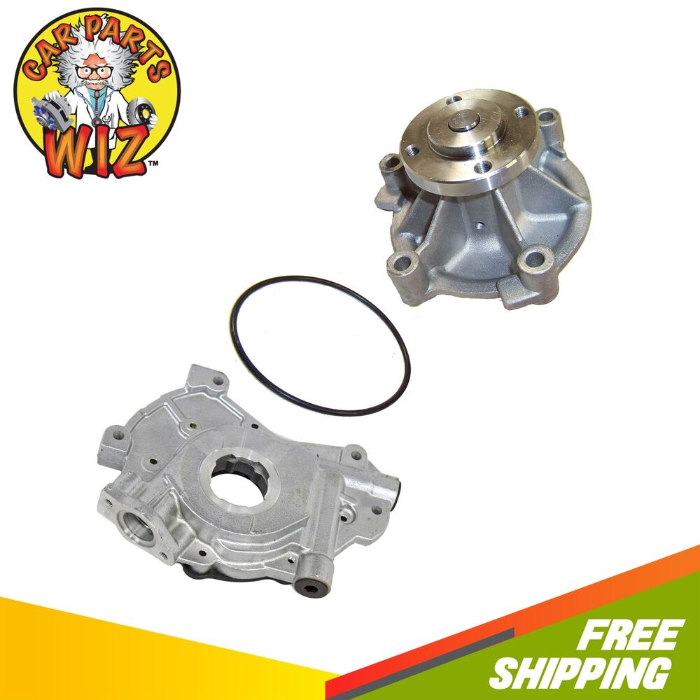Water Oil Pump Fits 98 08 Ford Crown Victoria Mercury