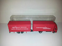 SIBUR CAMION MERCEDES MENIGAULT CARTONNERIES 4501 1/87 HO TRAIN MIN000156