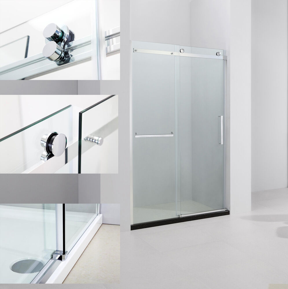 Art Of Bath 46 48 Quot X 75 Quot Frameless Sliding Shower Door 5