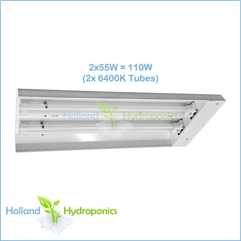 Grow Light Stand Led: Hydroponics Propagation Grow Light T5 Compact Fluorescent
