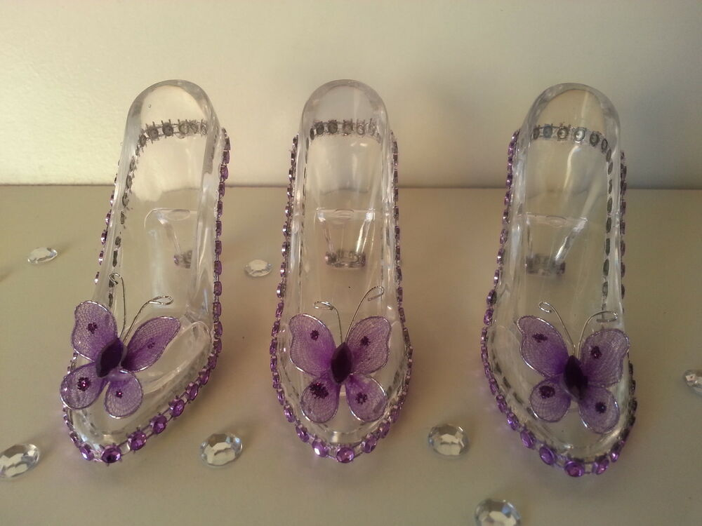 12 Fillable Cinderella Slippers Favors Birthday Sweet 16