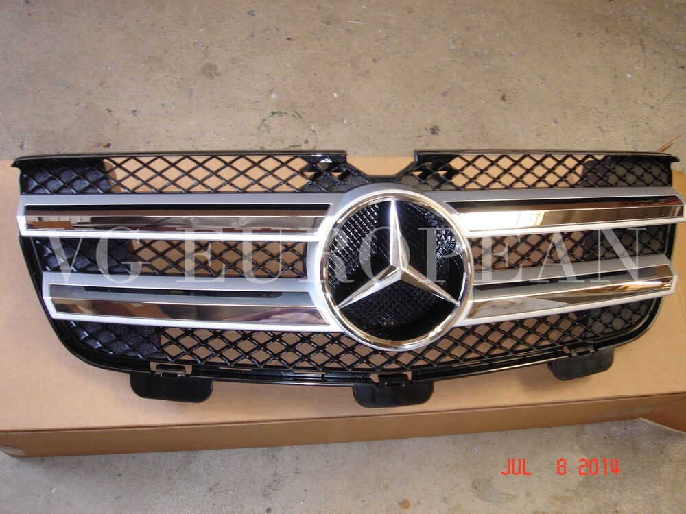 Mercedes benz gl class genuine front grille assembly new for Mercedes benz 2007 gl450 accessories