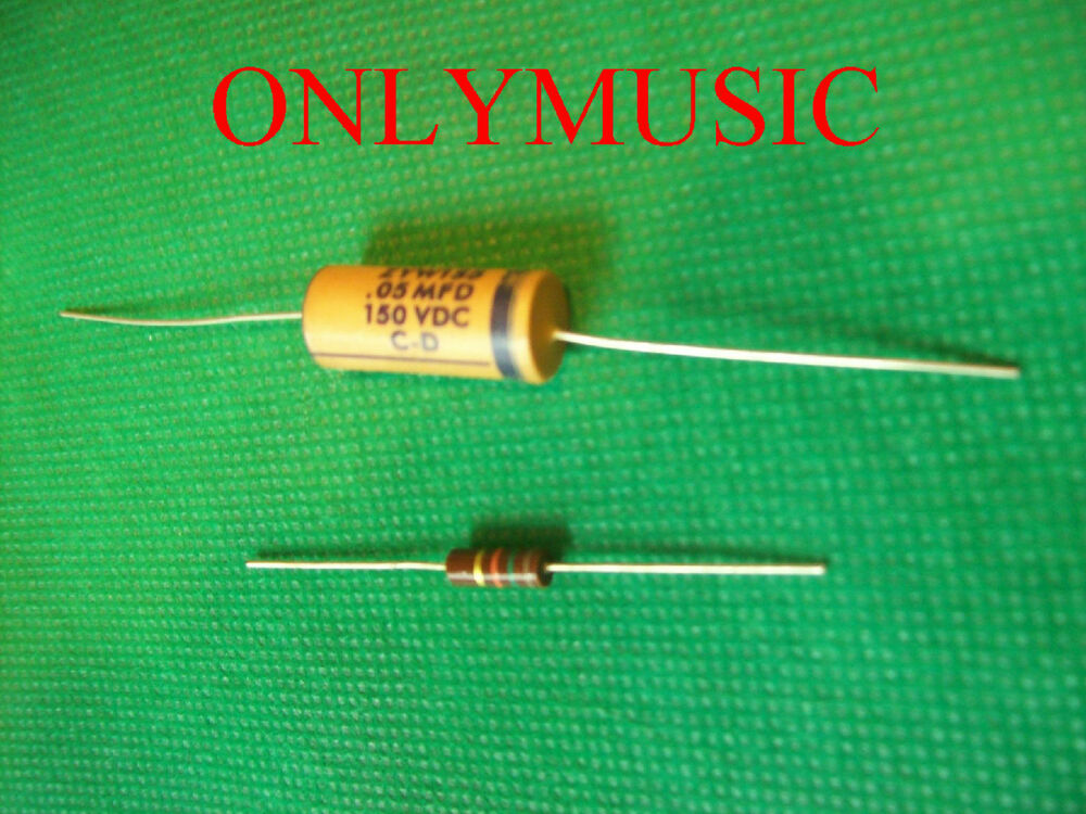 Compatible With Fender Nocaster Vintage Rep Capacitor Set