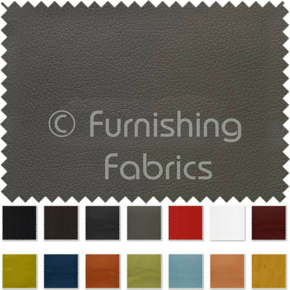 Soft Faux Leather Thick Durable Pu Upholstery Fabrics