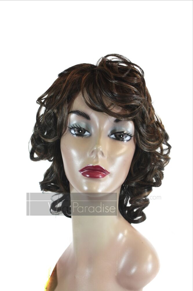 Junee Fashion Manhattan Style Synthetic Full Curly Wavy