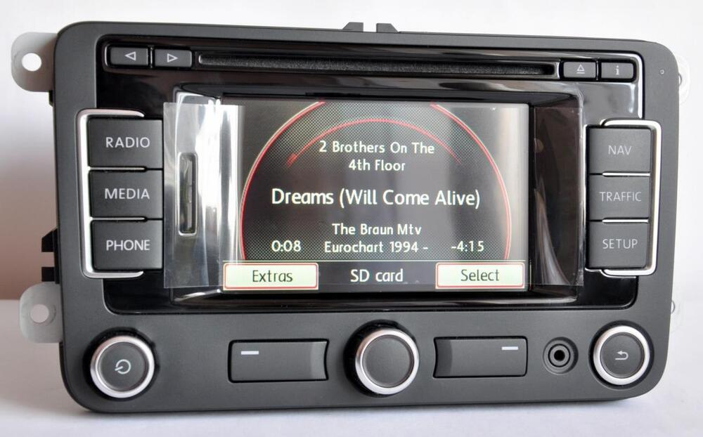 new vw rns 315 navigation dab bluetooth golf passat cc. Black Bedroom Furniture Sets. Home Design Ideas