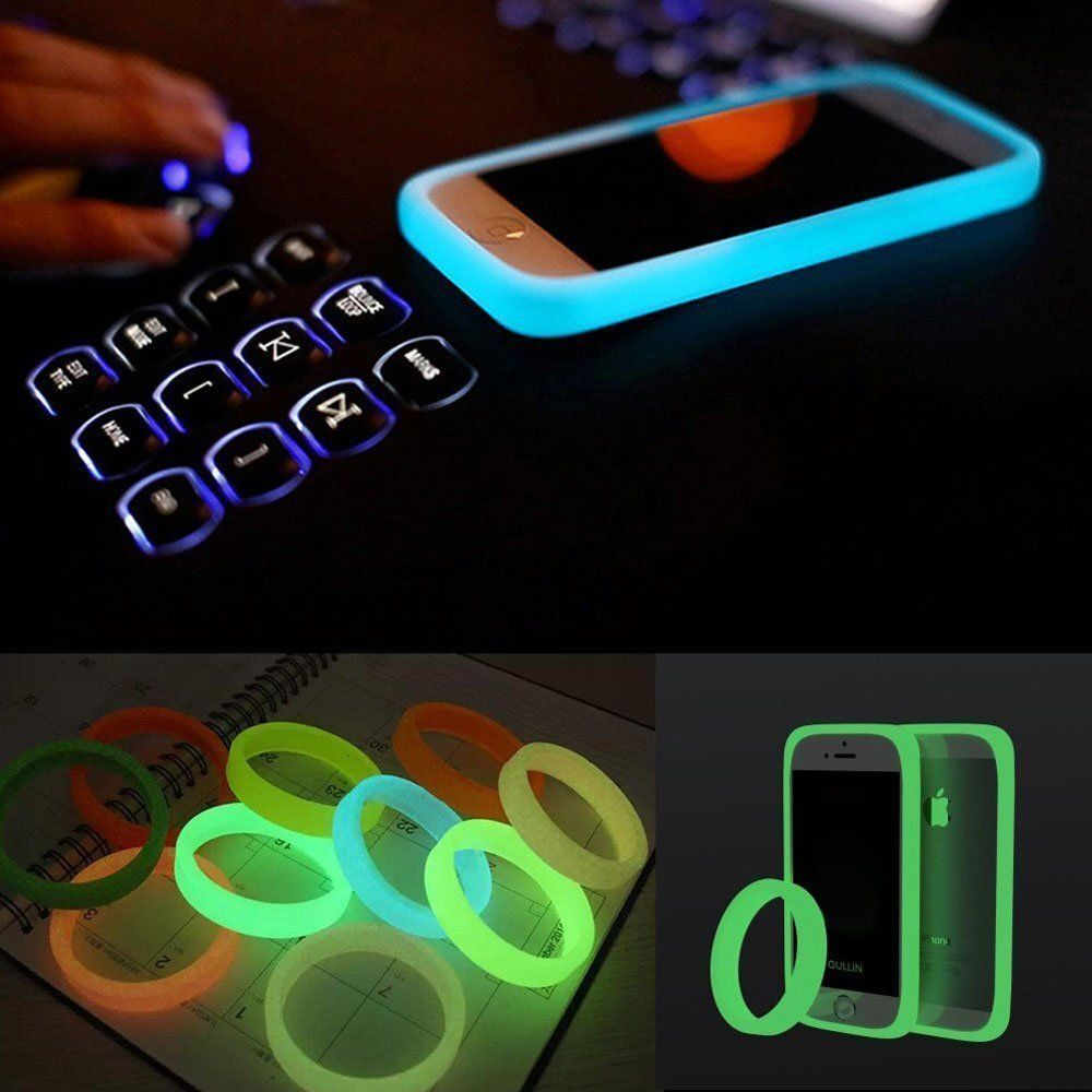 fluorescent soft silicone bracelet bumper case cover for universal cellphone ebay. Black Bedroom Furniture Sets. Home Design Ideas