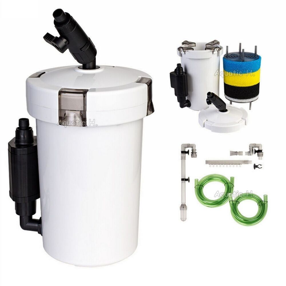 mini aquarium external canister filter l sunsun hw 603b table top fresh salt ebay. Black Bedroom Furniture Sets. Home Design Ideas
